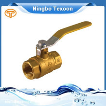 forged NPT full port brass ball valve with private label on handle CSA FM UL IAPMO