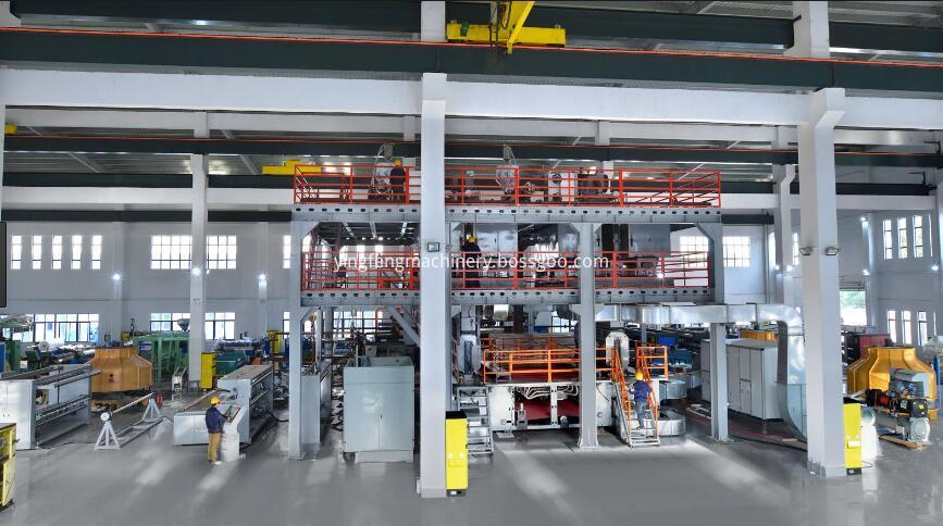 nonwoven production line