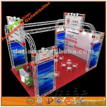 cabina de exposición modular plegable y portátil personalizada, 3 * 3 m, 3 * 6 m, 3 * 9 m, 6 * 6 m, 6 * 9 m