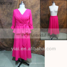 RSE120 двух частей мать невесты платье