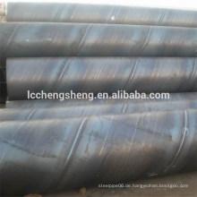 Spiral Stahlrohr, SSAW Stahl geschweißte Rohr