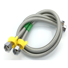 15mm toilet 304 stainless steel inner EPDM braided water hose