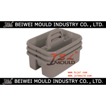 Customized Injection Plastic Tool Caddy Mould
