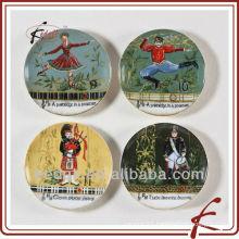 ceramic round coaster