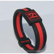 2016 Werbegeschenk geprägtes Silikon-Armband