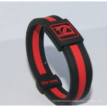 2016 Promotional Gift Embossed Silicone Wristband