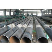 Spiral steel pipe for oil pipeline construction