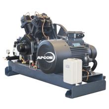 APCOM High Pressure piston Stationary Air Compressor 40 30 20 bar air compressor Diesel screw air compressor