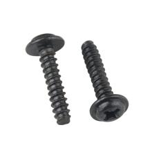 Black Carbon Steel M1.4 M1.7 M2 M2.3 M2.6 M3 M3.5 M4 PWB Phillips Pan Washer Head Self Tapping Screw