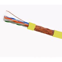 SFTP CAT6 LSZH Kabel Fluke getestet Soild Bare Kupfer gelb