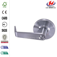 Satin Chrome Industrial Vandal Resistant Privacy Lever