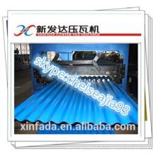 Folha de alumínio que dá forma à máquina / telhas onduladas que cobrem a máquina