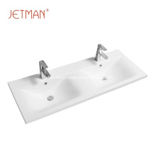 ceramic hand wash porcelain sink bathroom double basin