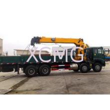 16 Ton Telescopic Boom Truck Crane With 80 L/min , Heavy Du