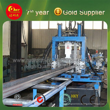 CZU Shapes Steel Furring Rollformer Produktionslinie