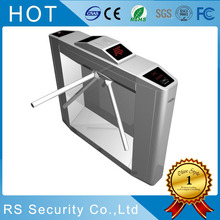TCP / IP Intelligent Cafeteria Waist Height Turnstile