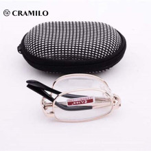 Pocket mini gafas de lectura plegables con estuches