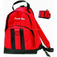Mochila plegable y bolsa deportiva