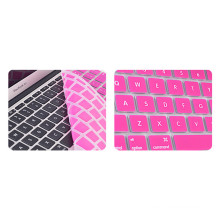 Couverture de clavier de silicone d'ordinateur portable de promotion / peau de protecteur pour Apple MacBook PRO