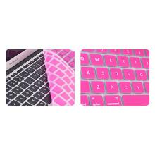 Promoção tampa do teclado de silicone laptop / protetor de pele para apple macbook pro