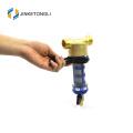 test water pressure back flush backwash brass pre filter with pressure gage