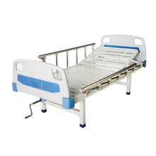 Cama de hospital semi-cazadora manual
