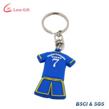 Hot Sale Custom Logo Sports Clothes PVC Keychain (LM1793)