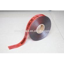 подземная обнаруженная предупреждающая лента волоконно-оптический кабель