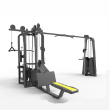 Hot sale 5- station integrated gym trainer equipment multi gym machine
