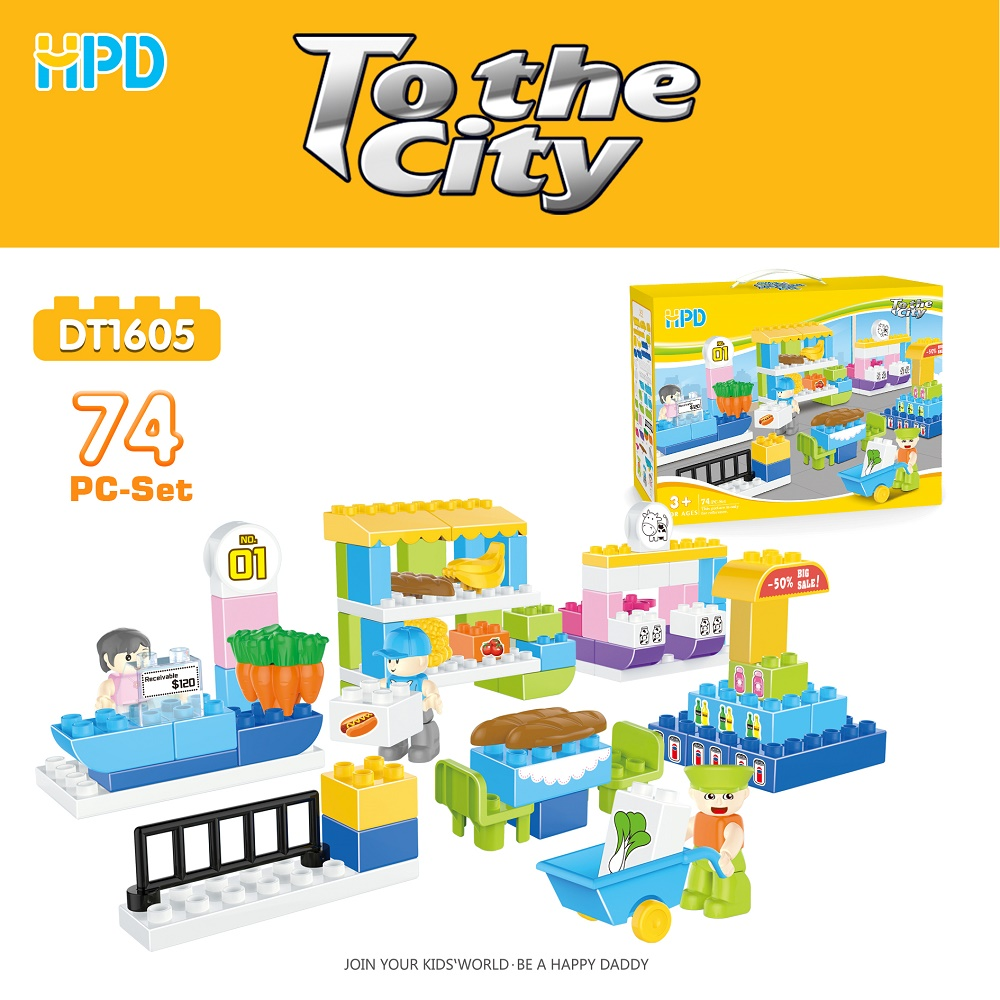 Plastic Assembly Toys