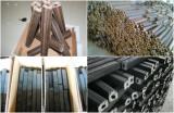 HOT Sale 2 ton per hour manure paper straw husk sawdust briquetting biomass wood briquette press machine