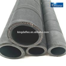 tuyau d'huile / carburant à basse pression en caoutchouc flexible avec enveloppé