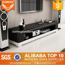 простая красивая гостиная мебель в стиле Малайзии ПВХ кожаный подставка для телевизора