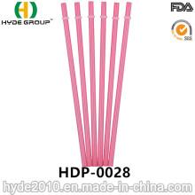 Paille en plastique acrylique dure de catégorie comestible pour boire (HDP-0028)