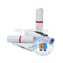 Bolsa de plástico personalizada de impresión extruida de polietileno blanco