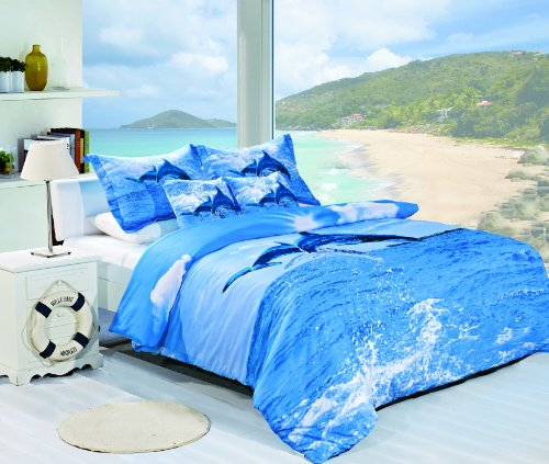 3d digital print bed sheet fabric