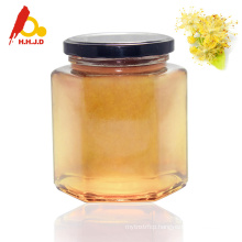 Bulk packing natural raw linden honey