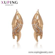 24703 xuping bijoux dernière populaire dent forme stud pas cher boucle d'oreille en gros