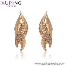24703 xuping jewelry latest popular tooth shape stud cheap earring wholesale