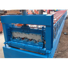 Auto Steel Floor Decking Roll Forming Machine For Construction Machinery