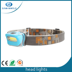 Popular 3W COB Long Working Headlamp