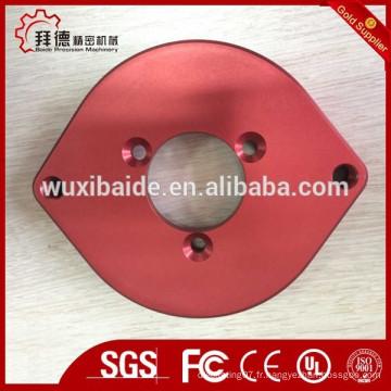 Pièces d'usinage en aluminium tournantes en aluminium de haute précision, pièces en alliage d'aluminium en acier cnc, usinage cnc haute qualité en aluminium