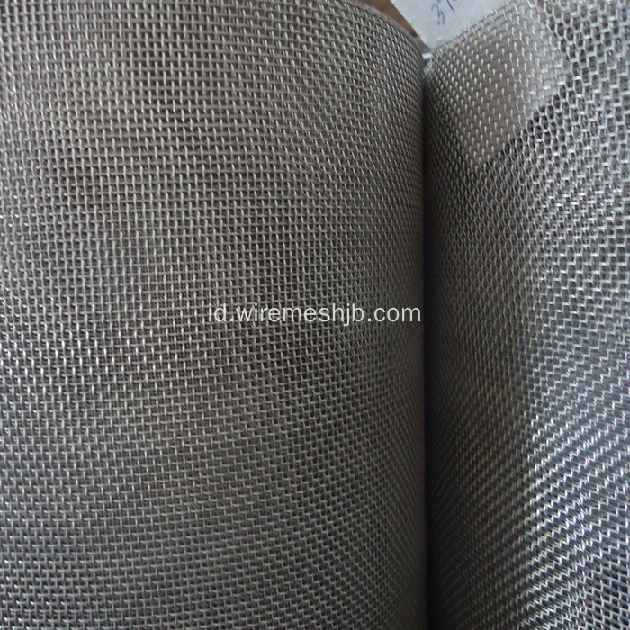 Stainless Steel Anyaman Wire Mesh