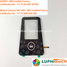 OEM/ODM for FPC Circuit Electric Membrane Switch Tactile Single Button LED Indicating FPC Membrane Keypad supply to Portugal Exporter
