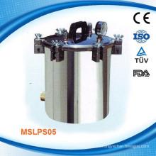 MSLPS05W Esterilizador de vapor autoclave portátil de acero inoxidable (8L)