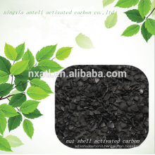 wood activated carbon for recovery of benzene