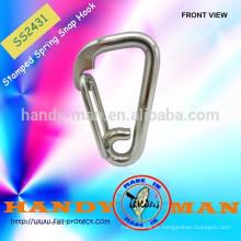 Aço inoxidável 316 Spring Marine Wire Delta Wire Snap Hook
