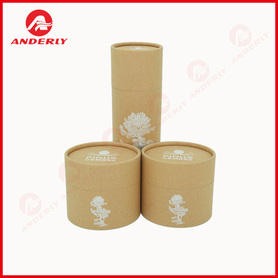 Karft Cardboard Tube For Essential Oil Packaging