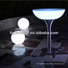 color changing newly-developed Iphone control factory direct sale rechargeable illuminated led table