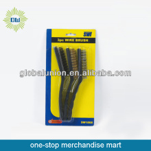 promotional  wire brush 3 pcs set